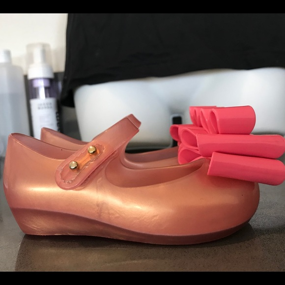 bfd2fe2d7132 Mini Melissa Ultragirl Sweet 3 MaryJane Light Pink.  M 5ae7258d3800c541e0a83945